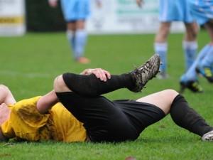 Fussballspieler Verletzung